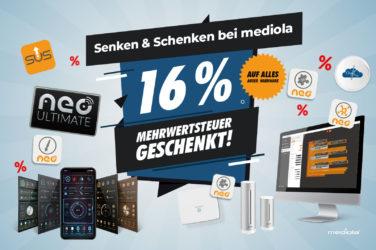 16% Mwst geschenkt
