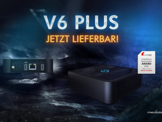 V6 plus - jetzt lieferbar