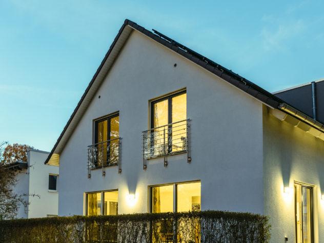 Haus Außensicht