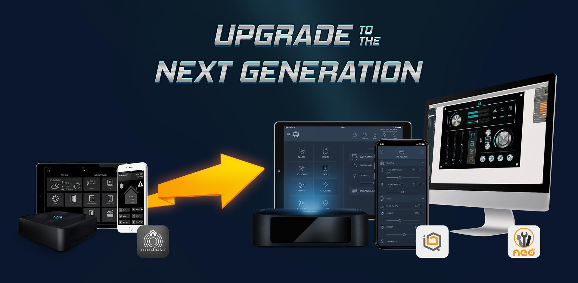 Upgrade von IQONTROL zu IQONTROL NEO oder AIO CREATOR NEO